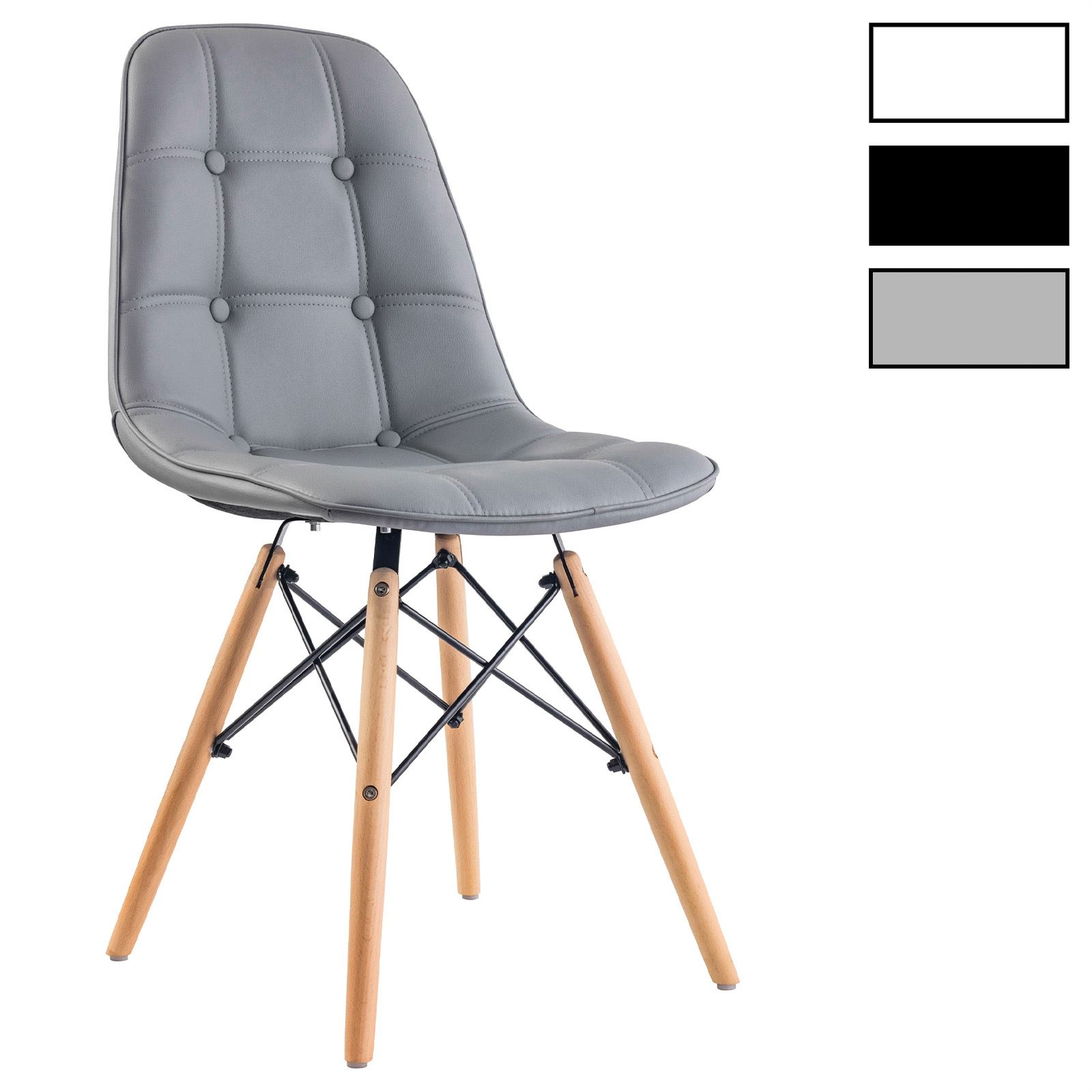 Design Esszimmerstuhl 4er set design esszimmerstuhl cesar farbauswahl mobilia24