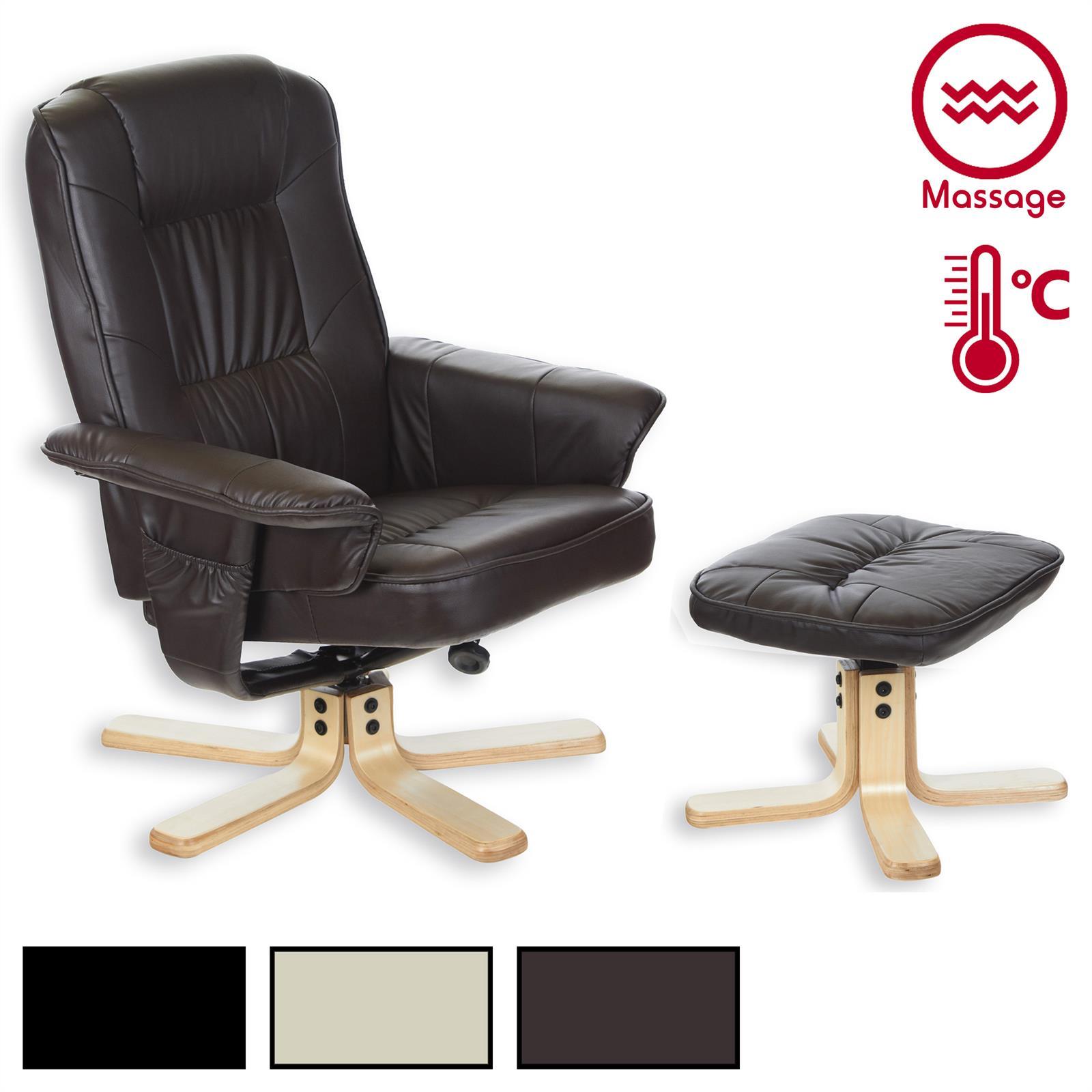 relaxsessel mit w rme und massagefunktion mobilia24. Black Bedroom Furniture Sets. Home Design Ideas
