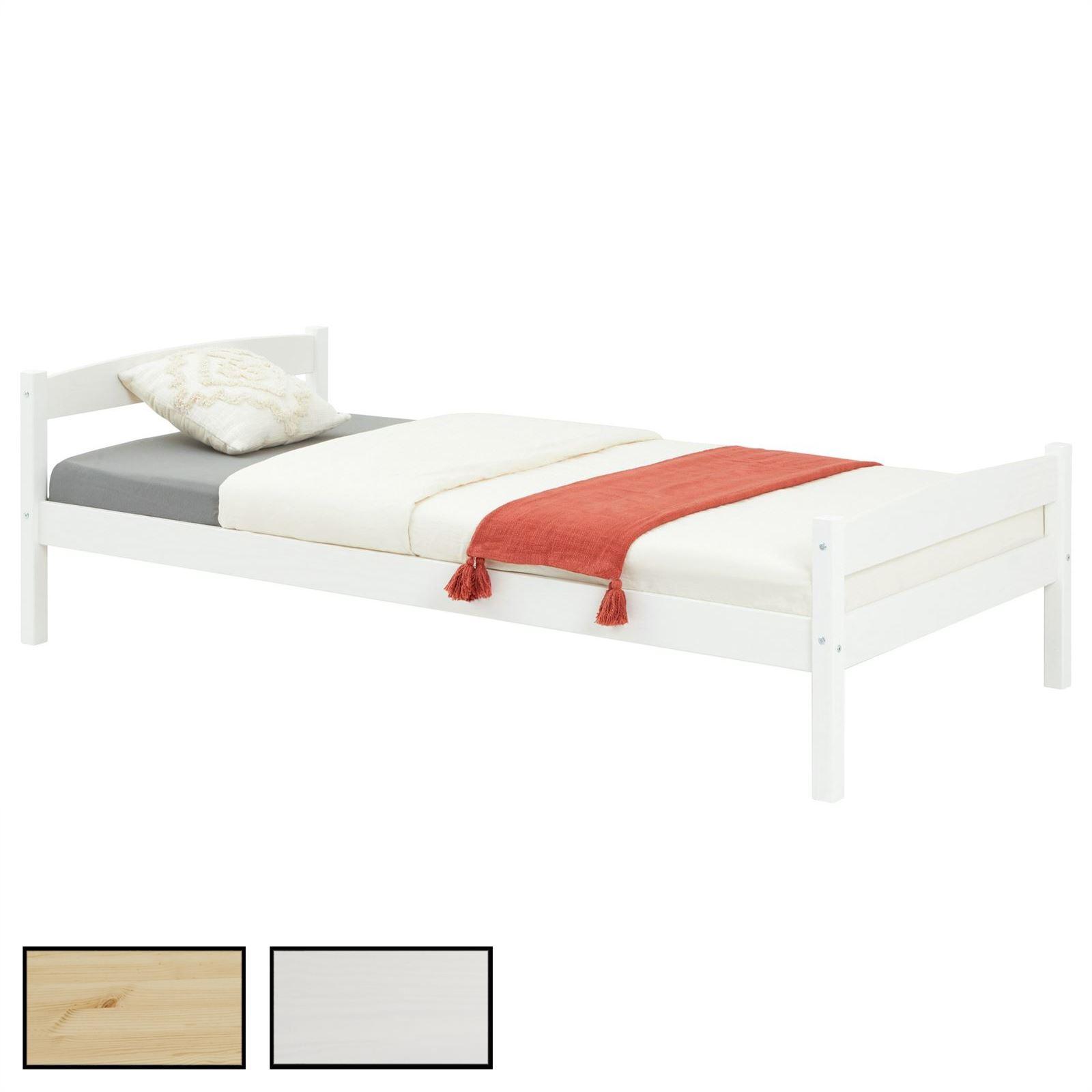einzelbett felix 90 x 190 cm in 2 farben mobilia24. Black Bedroom Furniture Sets. Home Design Ideas