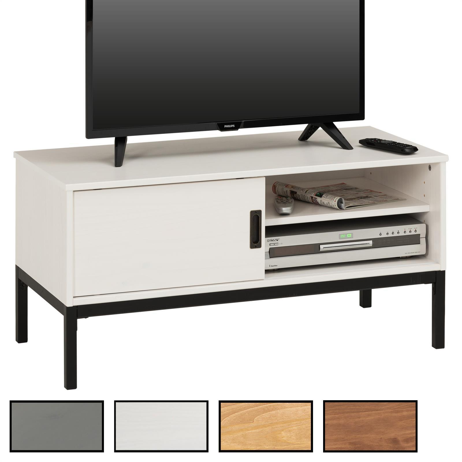 tv lowboard selma mit 1 schiebet r mobilia24. Black Bedroom Furniture Sets. Home Design Ideas