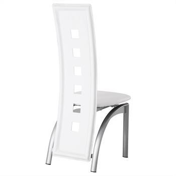 Stuhl Esszimmerstuhl MONICA 4er Set weiß