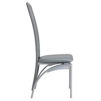 Stuhl Esszimmerstuhl MONICA 4er Set grau