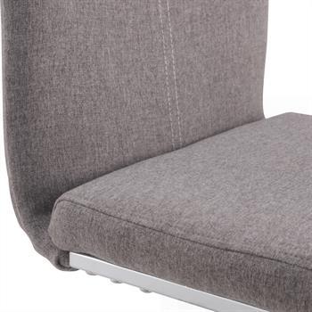 Schwingstuhl SABA, Set mit 4 Stühlen grau