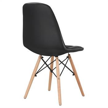 B-Ware Stuhl CESAR 4er Set schwarz