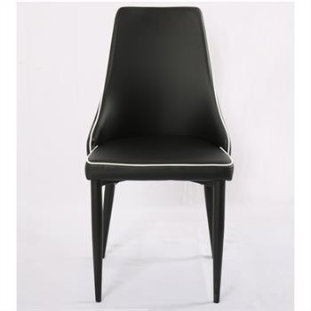 B-Ware Stuhl KATY 4er Set schwarz/weiß