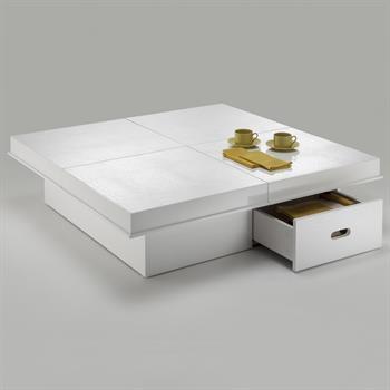 Design Couchtisch ACAPULCO weiß