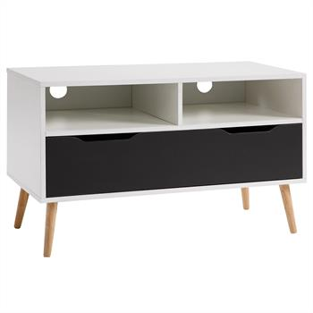 B-Ware  TV Rack GENOVA in weiß/grau foliert