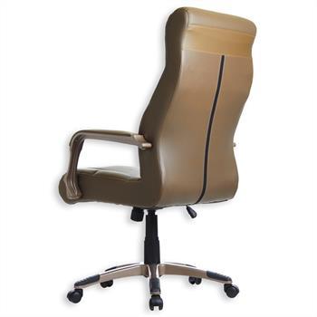 Bürodrehstuhl PATRICK, 2er Pack, braun