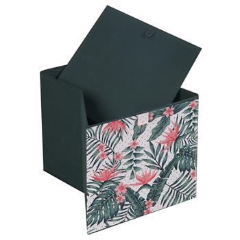 Stoffbox TROPICAL faltbar 2er Pack