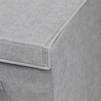 Wäschesammler TIAGO, faltbar aus Vlies-Stoff