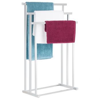 Handtuchhalter MATTIA mit 3 Handtuchstangen in chrom