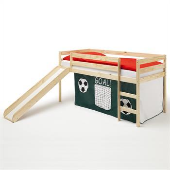 Spielbett BENNY, mit Fußball-Vorhang