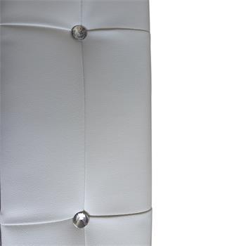 B-Ware Polsterbett VERONIKA 120 x 200 cm in weiß