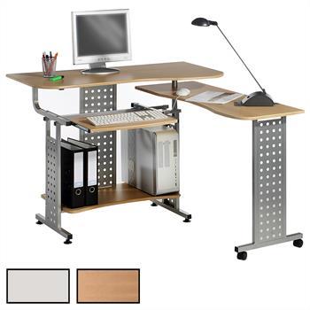 PC-Schreibtisch ALPHA, verschiedene Farben