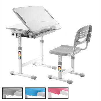 Kinderschreibtisch Set ALUMNO höhenverstellbar inklusive Stuhl
