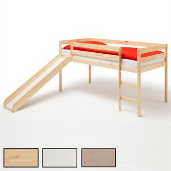 Spielbett BENNY mit Rutsche in 3 Farben