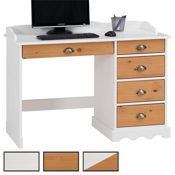 Schreibtisch COLETTE mit Aufsatz