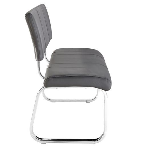 esszimmerbank essbank polsterbank sitzbank mit r ckenlehne k chenbank in grau ebay. Black Bedroom Furniture Sets. Home Design Ideas