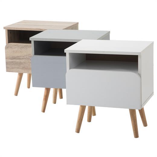 nachtkommode nachttisch nachtkonsole f r boxspringbett 1. Black Bedroom Furniture Sets. Home Design Ideas