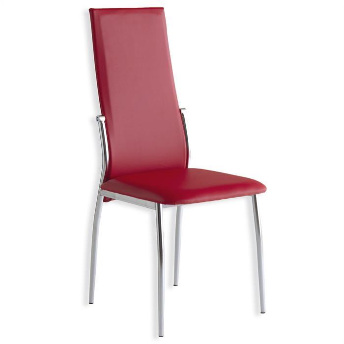 Esszimmer Stuhl DORIS, rot