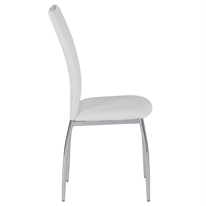 Esszimmerstuhl APOLLO, Set mit 4 Stühlen weiß