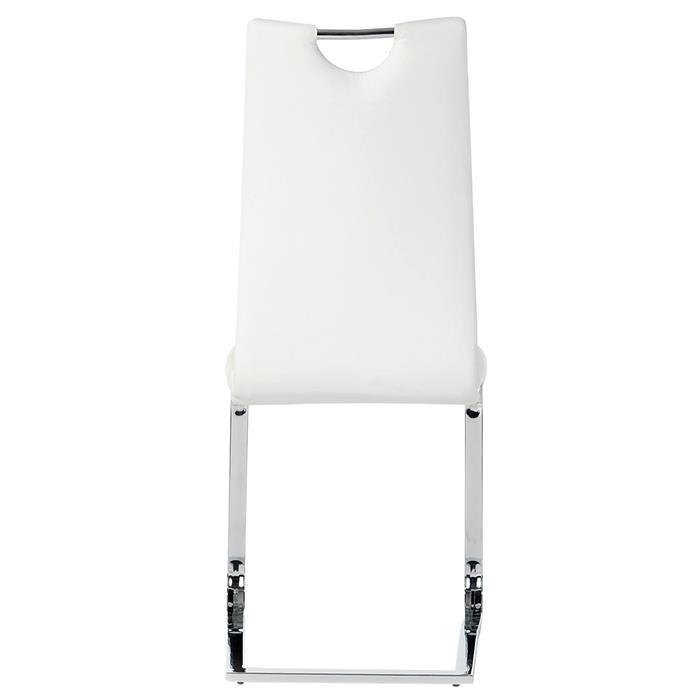 Schwingstuhl SABA, Set mit 4 Stühlen weiß