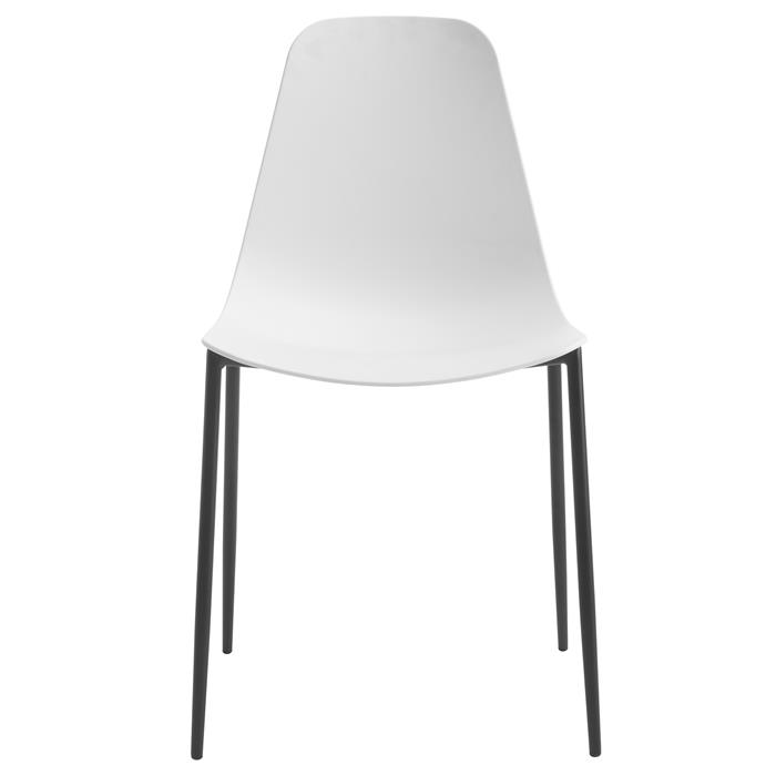Esszimmerstuhl FRIDO im 4er Pack modernes Design in weiß
