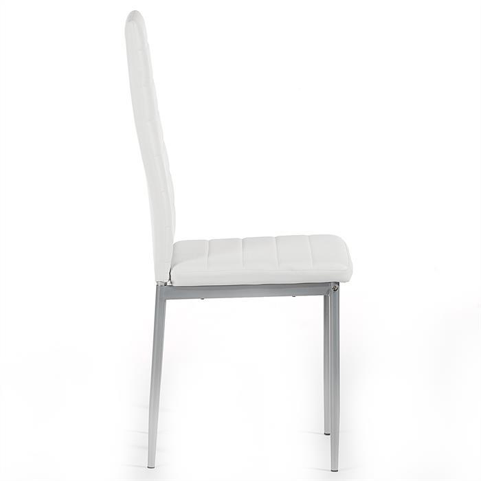 Stuhl NATHALIE 2er Set in weiß