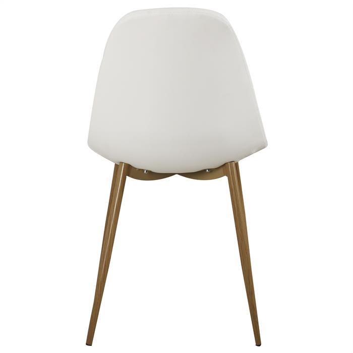 B-Ware Stuhl IDANIA 4er Set weiß