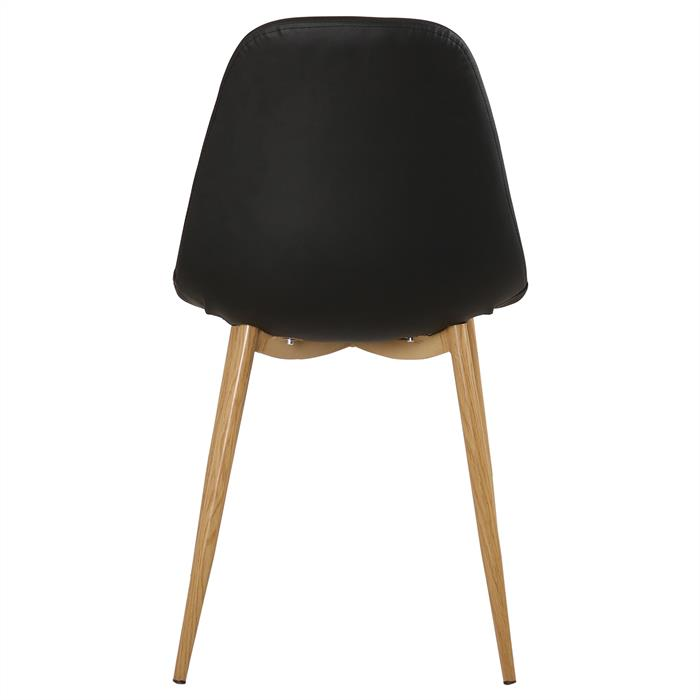 B-Ware Stuhl IDANIA 4er Set schwarz