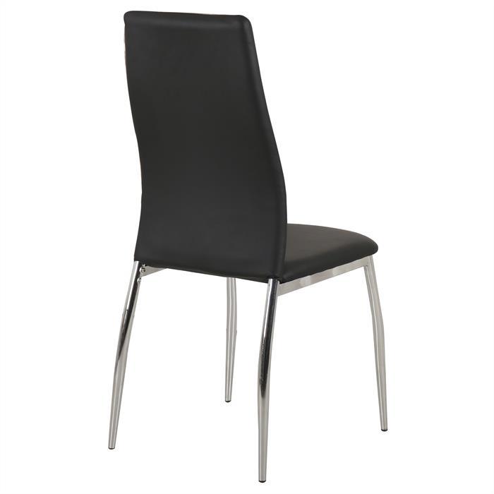 B-Ware Stuhl JOEL 6er Set schwarz