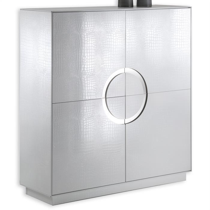 Design Schrank Kommode Sideboard ACAPULCO weiß