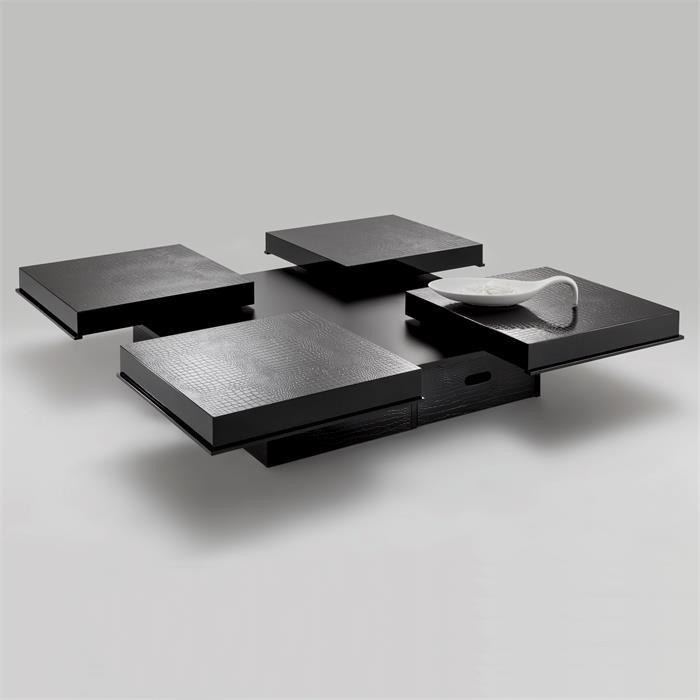 Design Couchtisch ACAPULCO schwarz