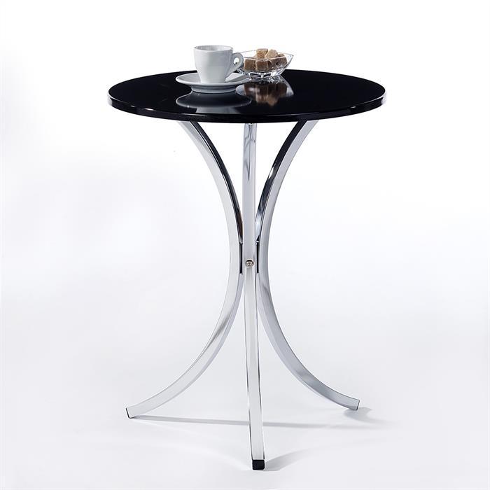 Beistelltisch COSY Tischplatte schwarz