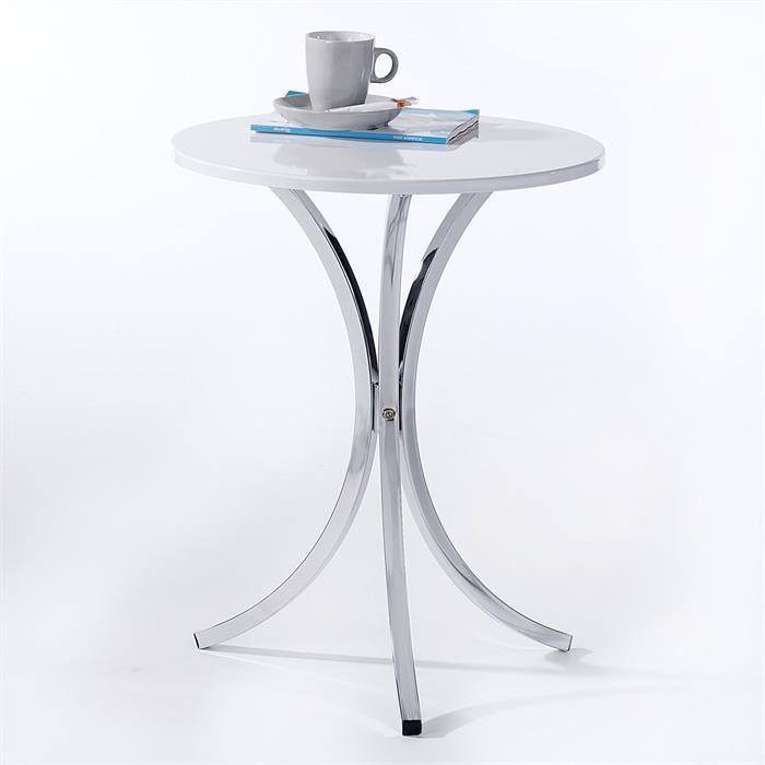 Beistelltisch COSY Tischplatte weiß