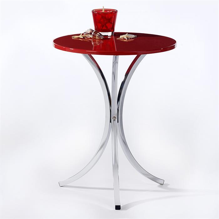 Beistelltisch COSY Tischplatte rot
