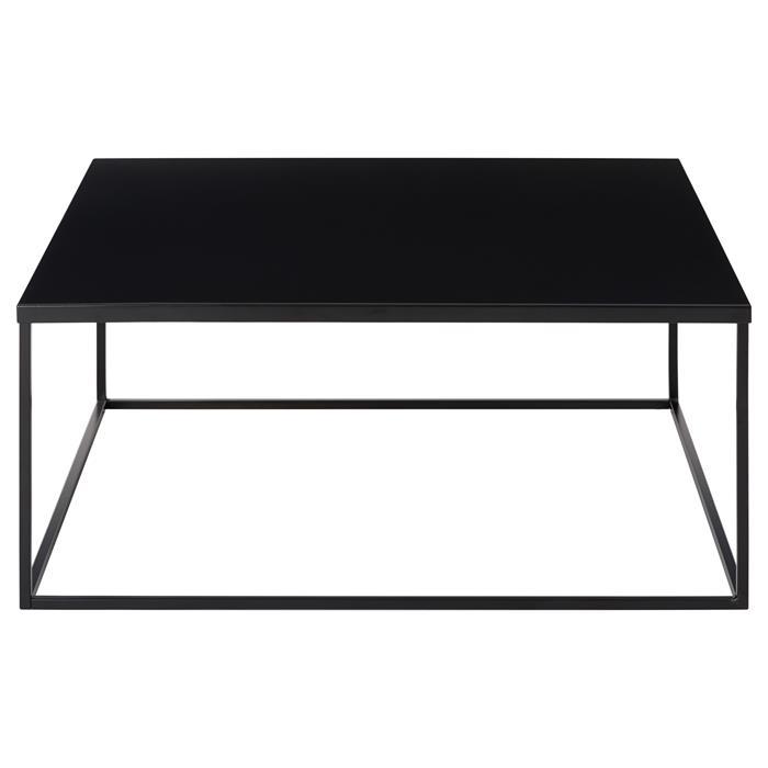 Couchtisch HILAR 80 x 80 cm, schwarz