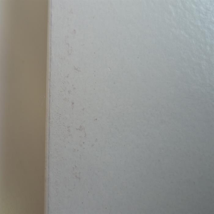 B-Ware Lowboard GENOVA in weiß/Sonoma Eiche foliert