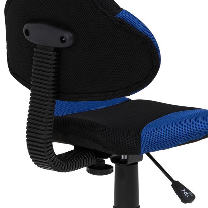 Kinderdrehstuhl ALONDRA schwarz/blau
