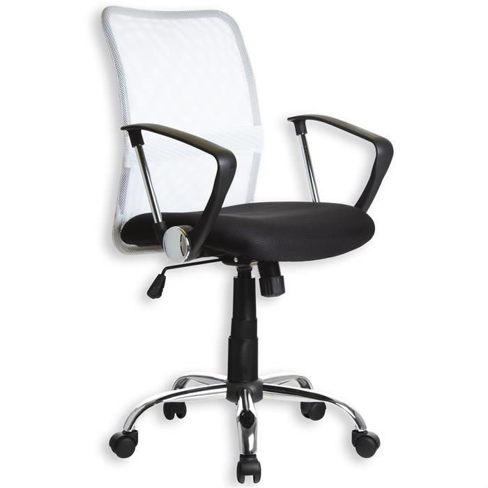 Schreibtischstuhl RUDI weiß