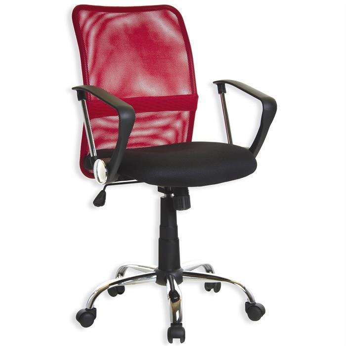 Schreibtischstuhl RUDI rot