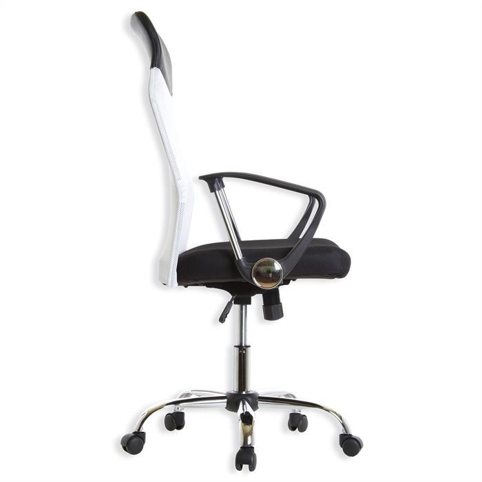 Schreibtischstuhl NORBERT, schwarz weiß
