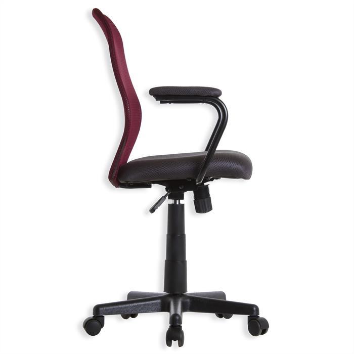 Schreibtischstuhl BENDIX in weinrot