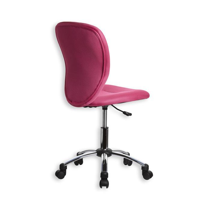Schreibtischstuhl LEON, ergonomisch, pink