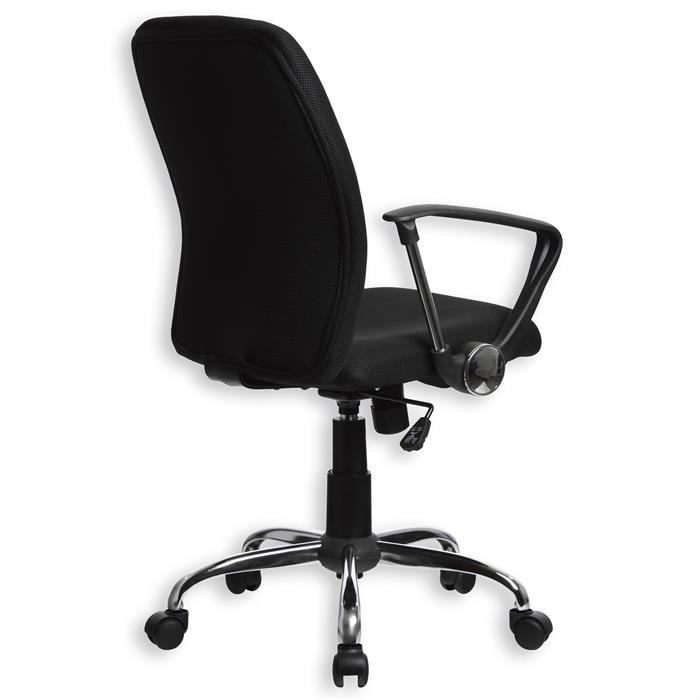 Bürodrehstuhl EDGAR in schwarz