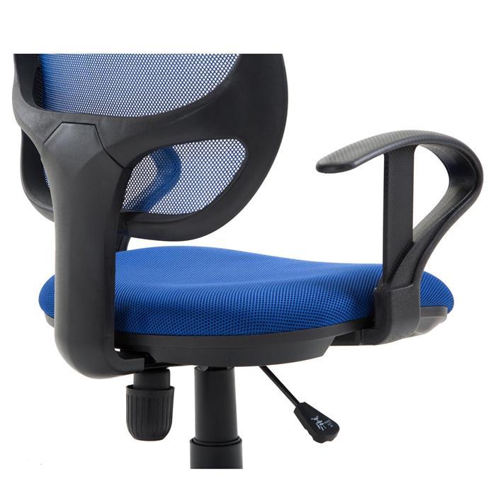 Kinderdrehstuhl COOL in blau