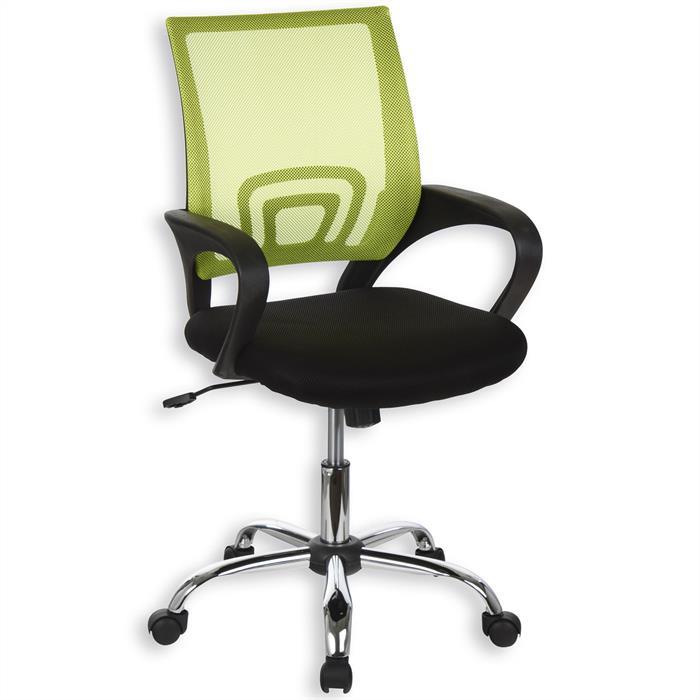 Schreibtischstuhl FABIANO höhenverstellbar, grün