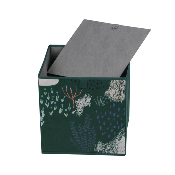 Stoffbox FOREST-2 faltbar im 2er Pack