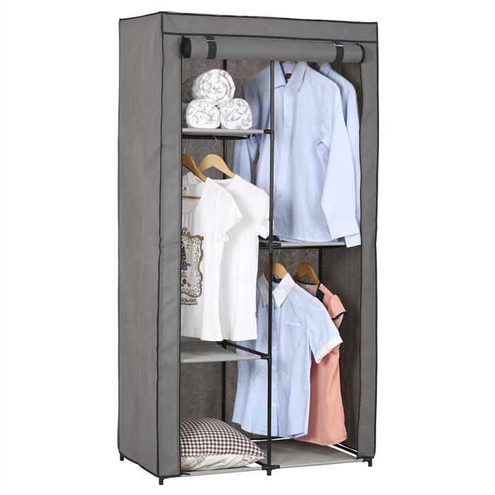 Kleiderschrank ADAM, bis zu 3 Kleiderstangen