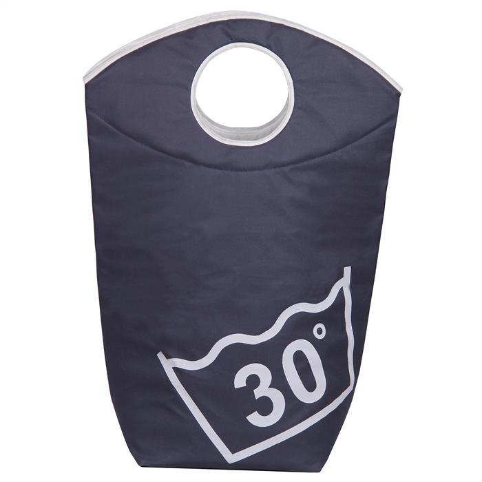 Wäschesammler LAUNDRY in dunkelblau